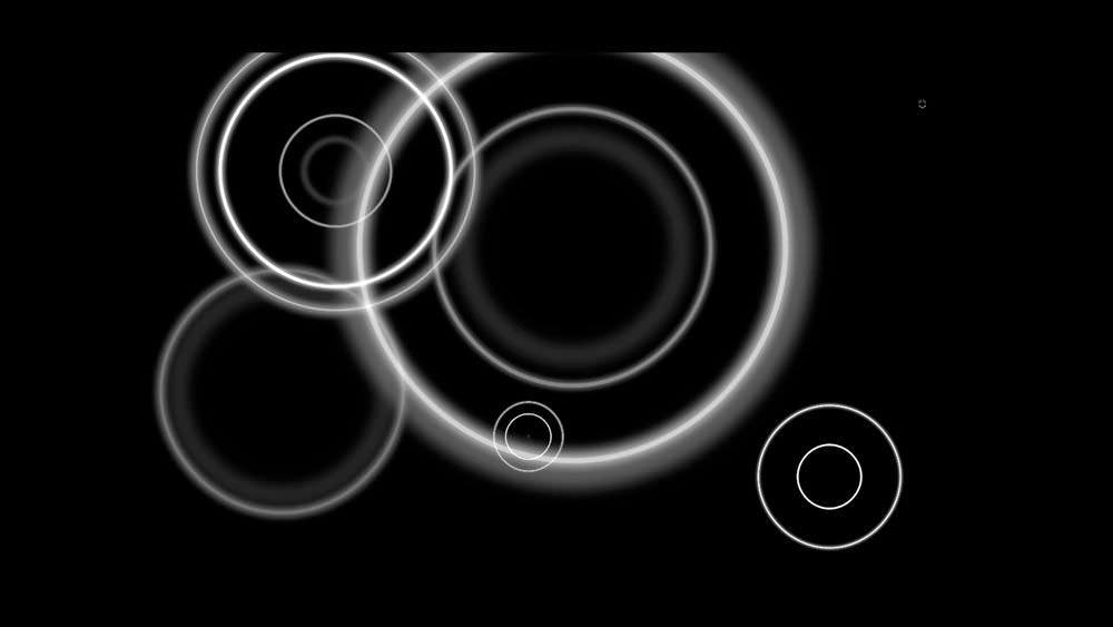 【無料動画素材】映像作品のワンポイントで使える合成用の「水の波紋」3種類