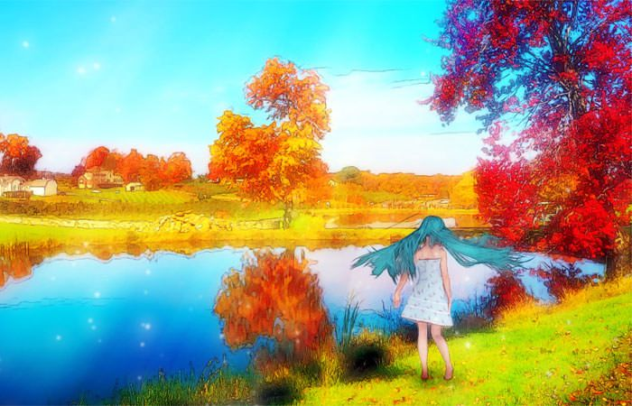 【無料音楽素材】ピアノ・ソロ風で切ないメロディのフリーBGM「透明少女-忘れかけていた旋律 Long Ver.」