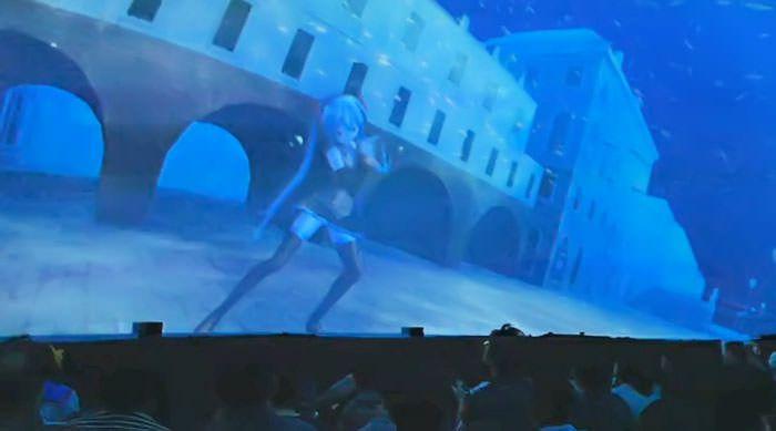 【ボカロ】ニコニコ超会議2015 超ボカロプラネタリウムでのミクさんの「Aquatronica」