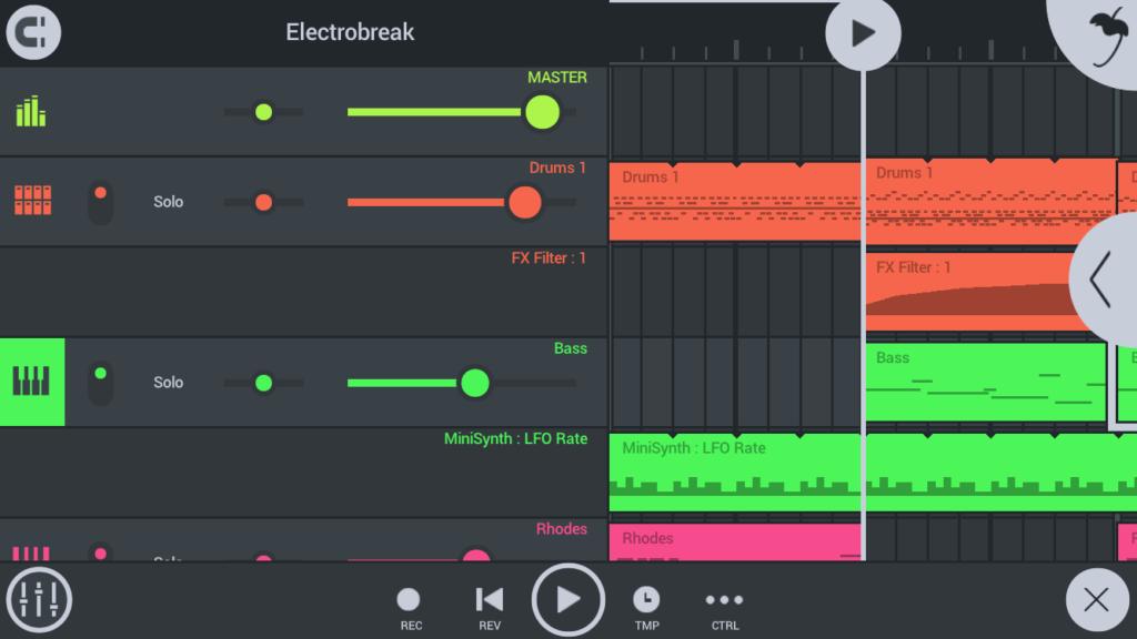 「FL Studio Mobile 3」これから音楽を始めたい人に