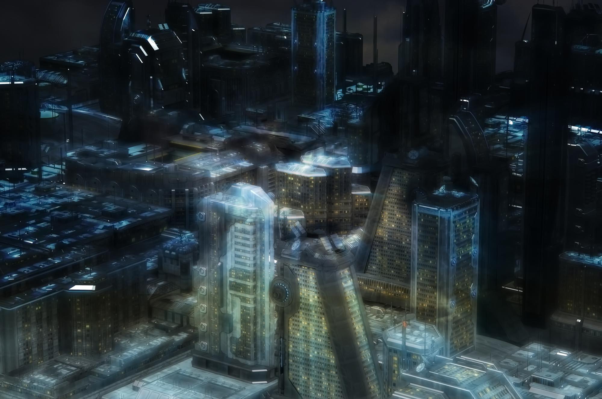 近未来sf・サイバーパンク系の背景画像素材】 sci-fi background images