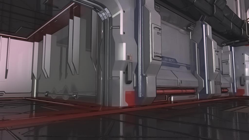 【背景素材】近未来SF(空想科学)のページを追加しました。
