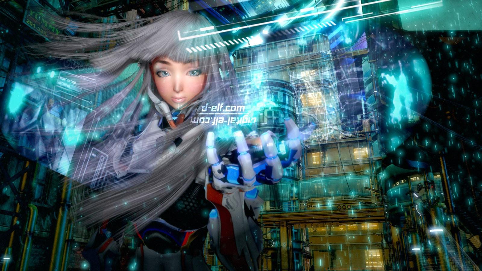 【近未来SF・サイバーパンク系の背景画像素材】 Sci-Fi Background images